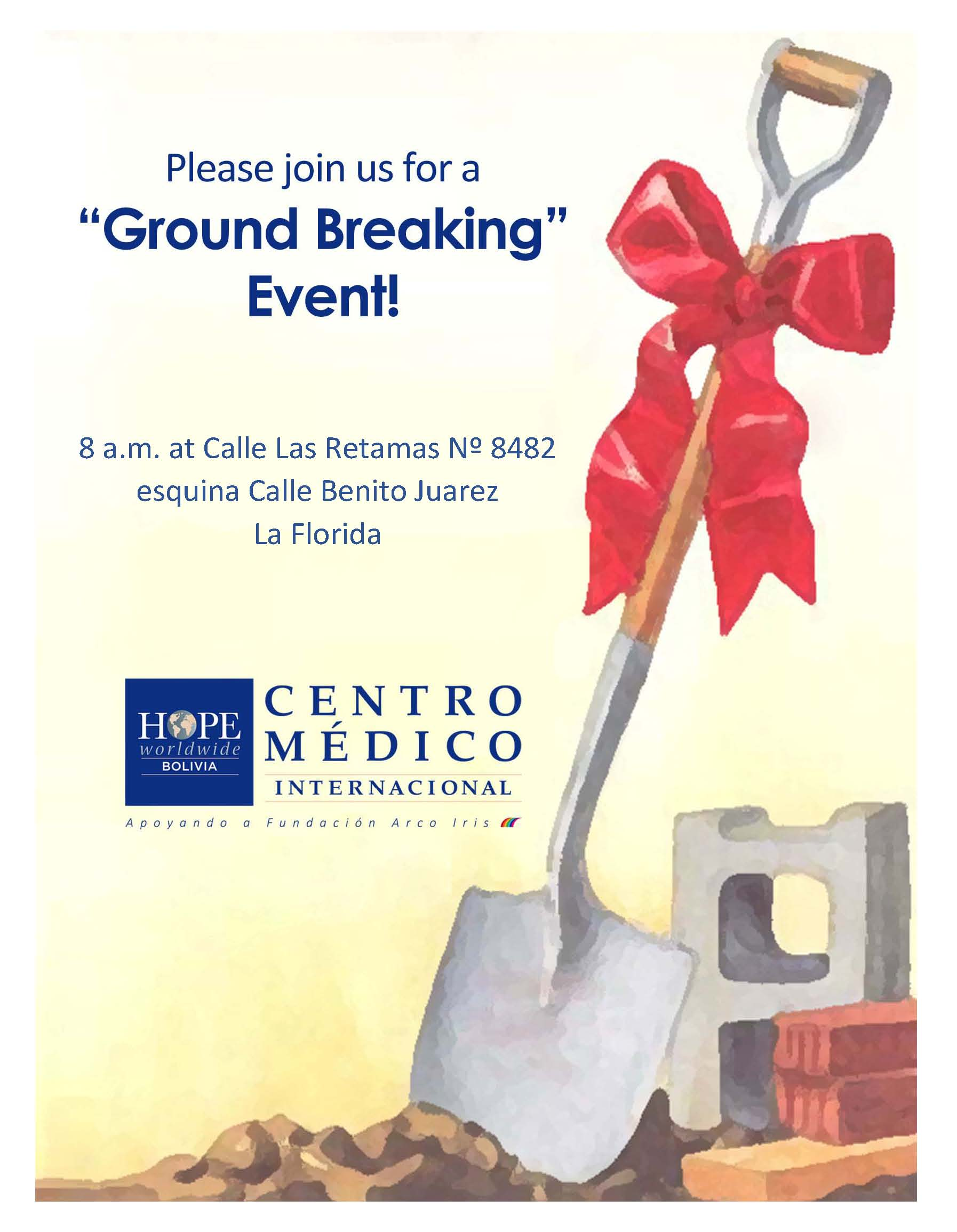 Groundbreaking Hope Centro Medico International Clinic La Paz